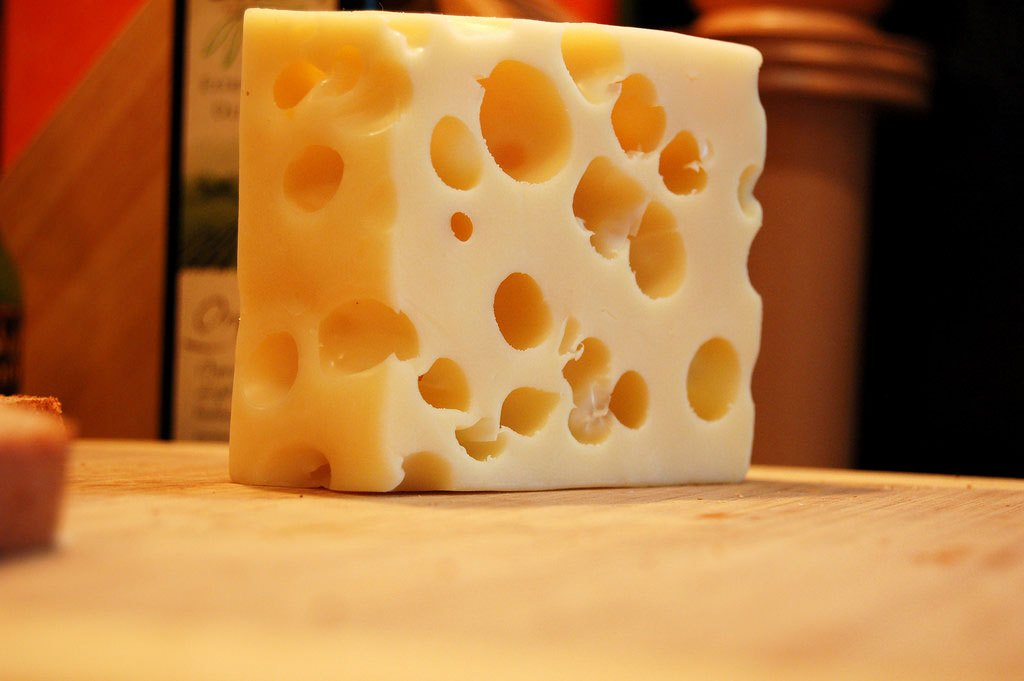 """As """"imperfeições"""" também fazem parte dos famosos queijos suíços. E de todos nós…Profundo isso (risos)"""