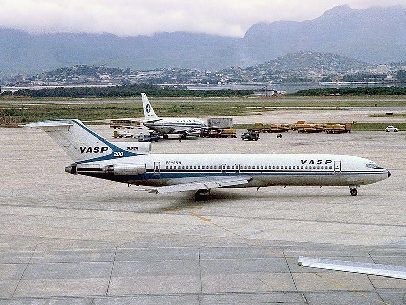 A Vasp também operou 727. Um deles caiu em 1982, nos arredores de Fortaleza (CE)