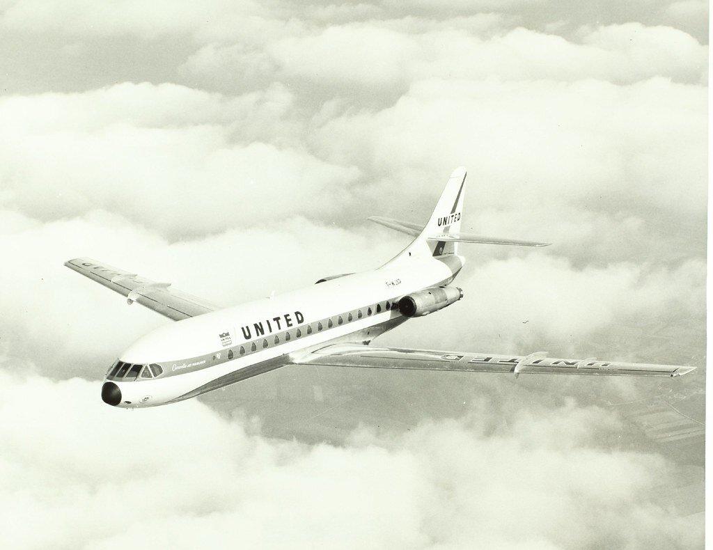 O francês Caravelle ultrapassou a barreira do mercado europeu e chegou também aos EUA. Na foto, modelo da empresa United