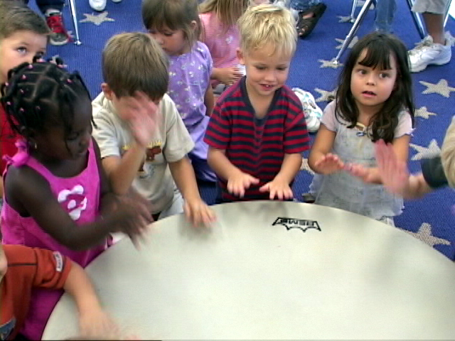 PERCUSSION WITH EARLY YEARS ONLINE WORKSHOPS -