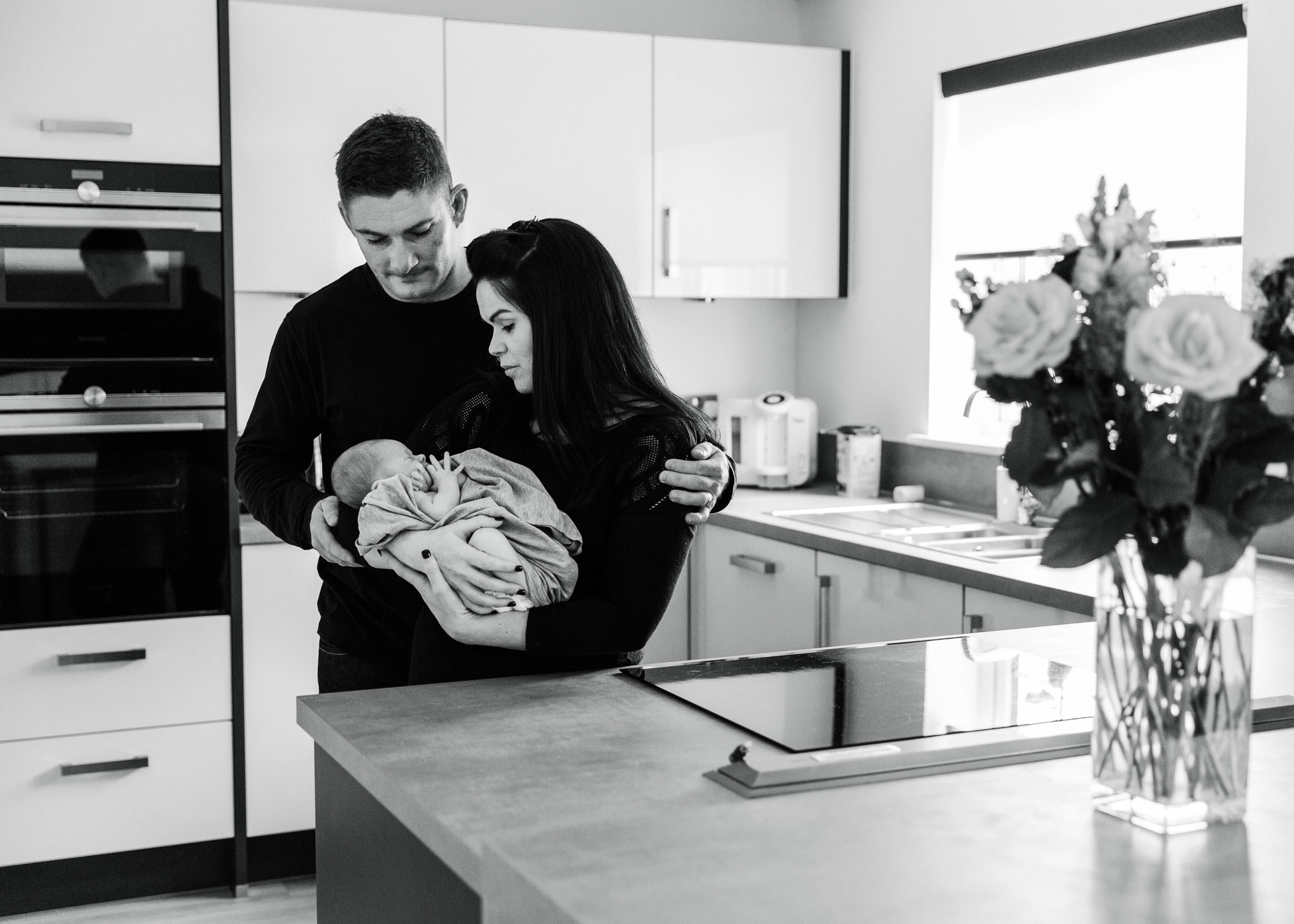 aberdeen newborn photographer at home newborn