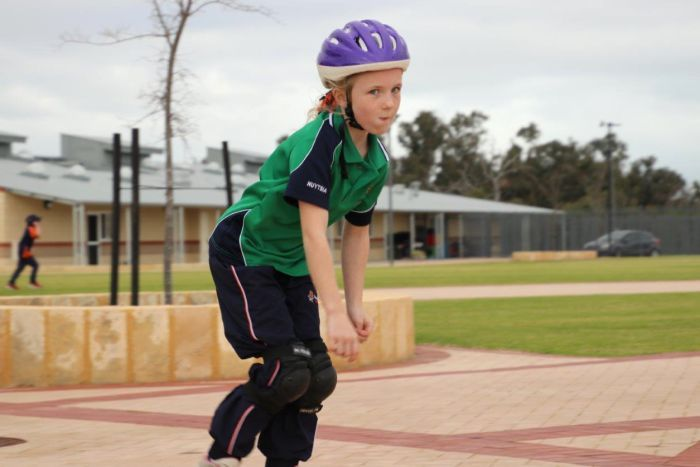 PHOTO: Schools can play a role in maximising physical activity in children, experts say. (ABC News: Rebecca Carmody)