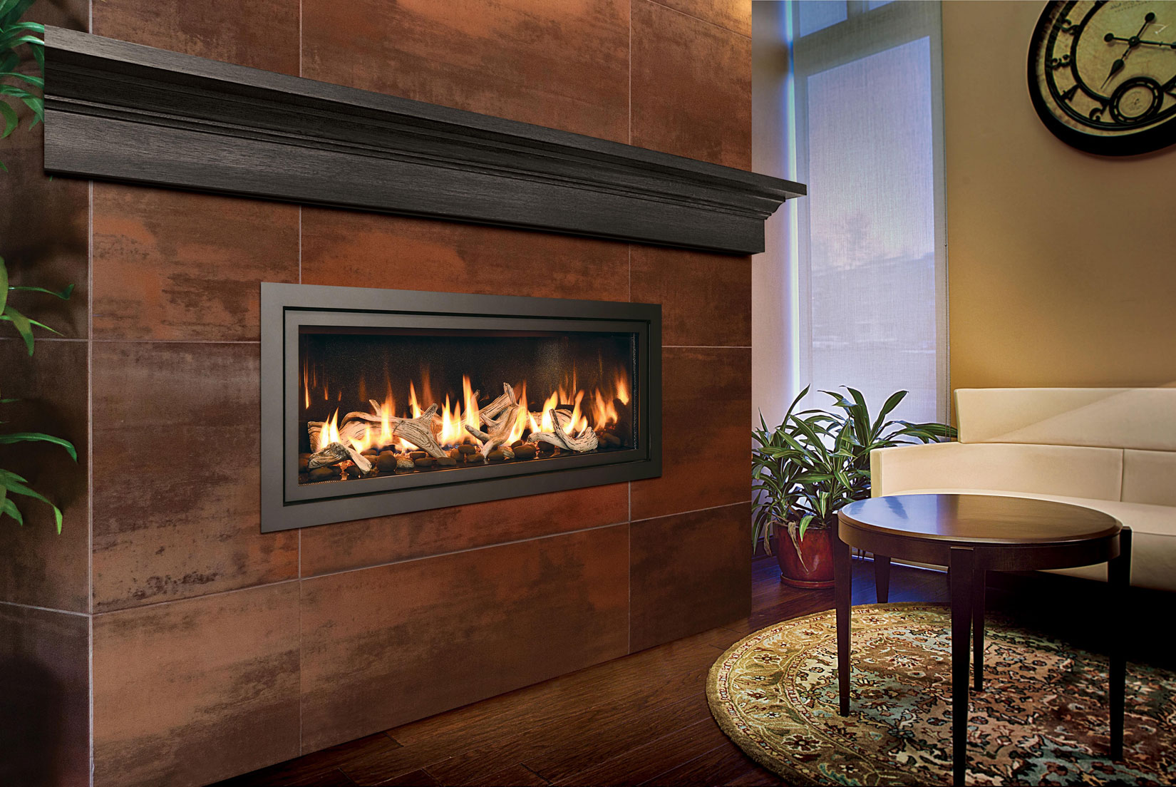 Mendota Linear Gas Fireplace