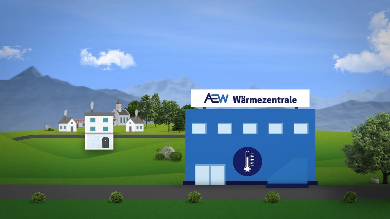 Explainer Video «AEW Wärmeverbund»