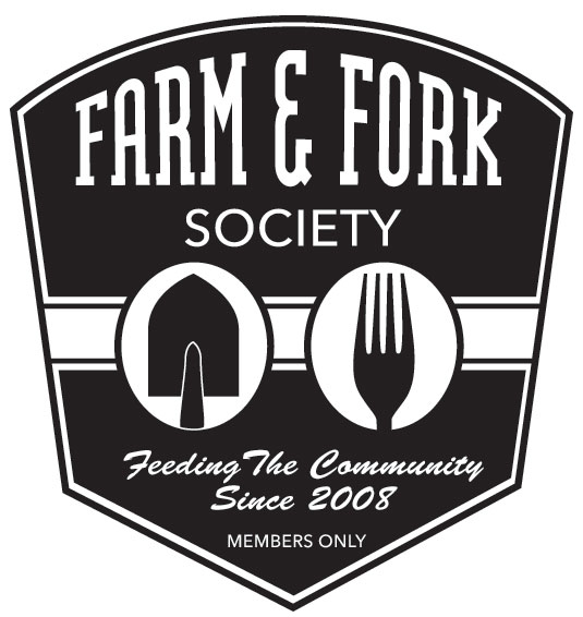 in proud partnership with farm & fork society -