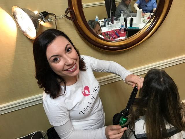 cleveland makeup artist volunteer fashion bridal