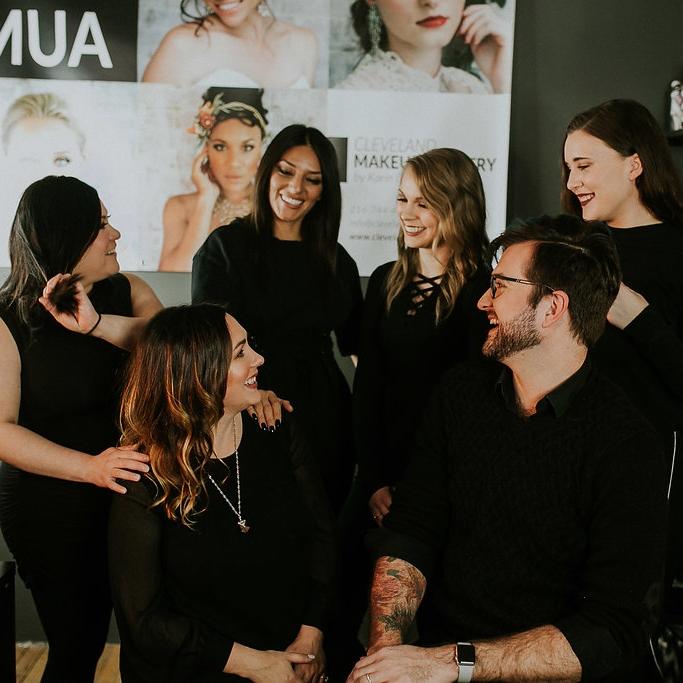 cleveland makeup artistry team