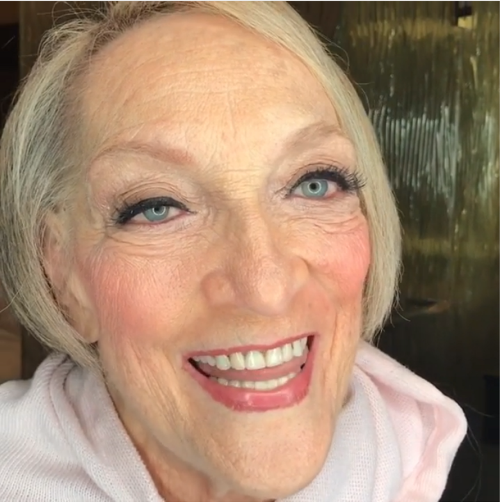 This client was the Grandmother of the Groom. She had never had her makeup professionally done before and wanted to go all out for her grandson's wedding. We used a traditional foundation applied with brushes to give her skin the most youthful, radiant look.