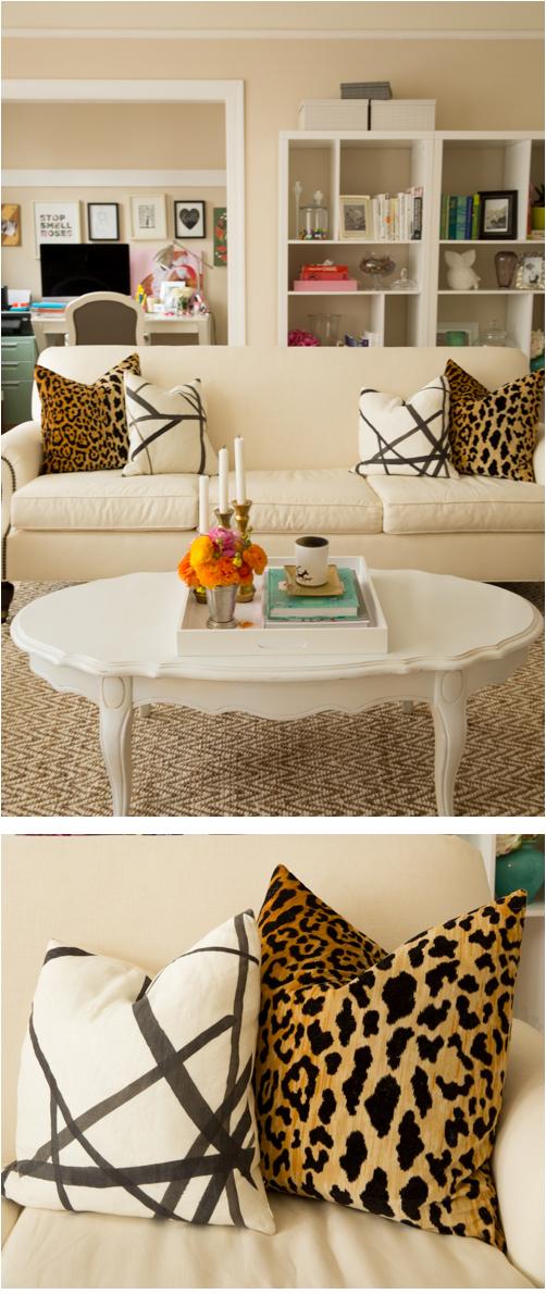 Julia's Living Room // Arianna Belle pillows