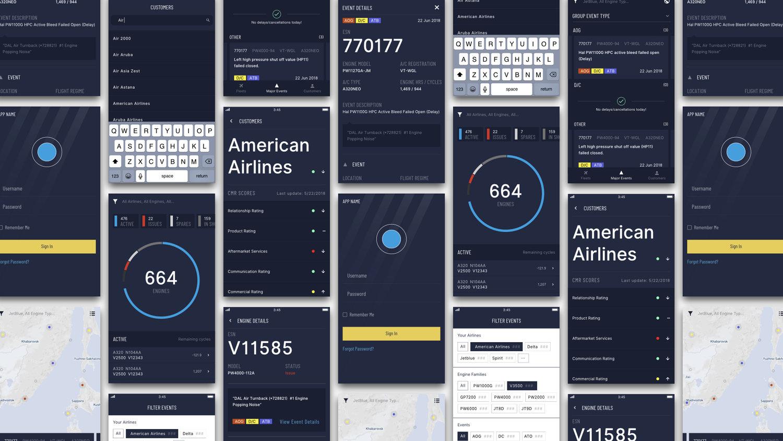 Tracking App |   UI