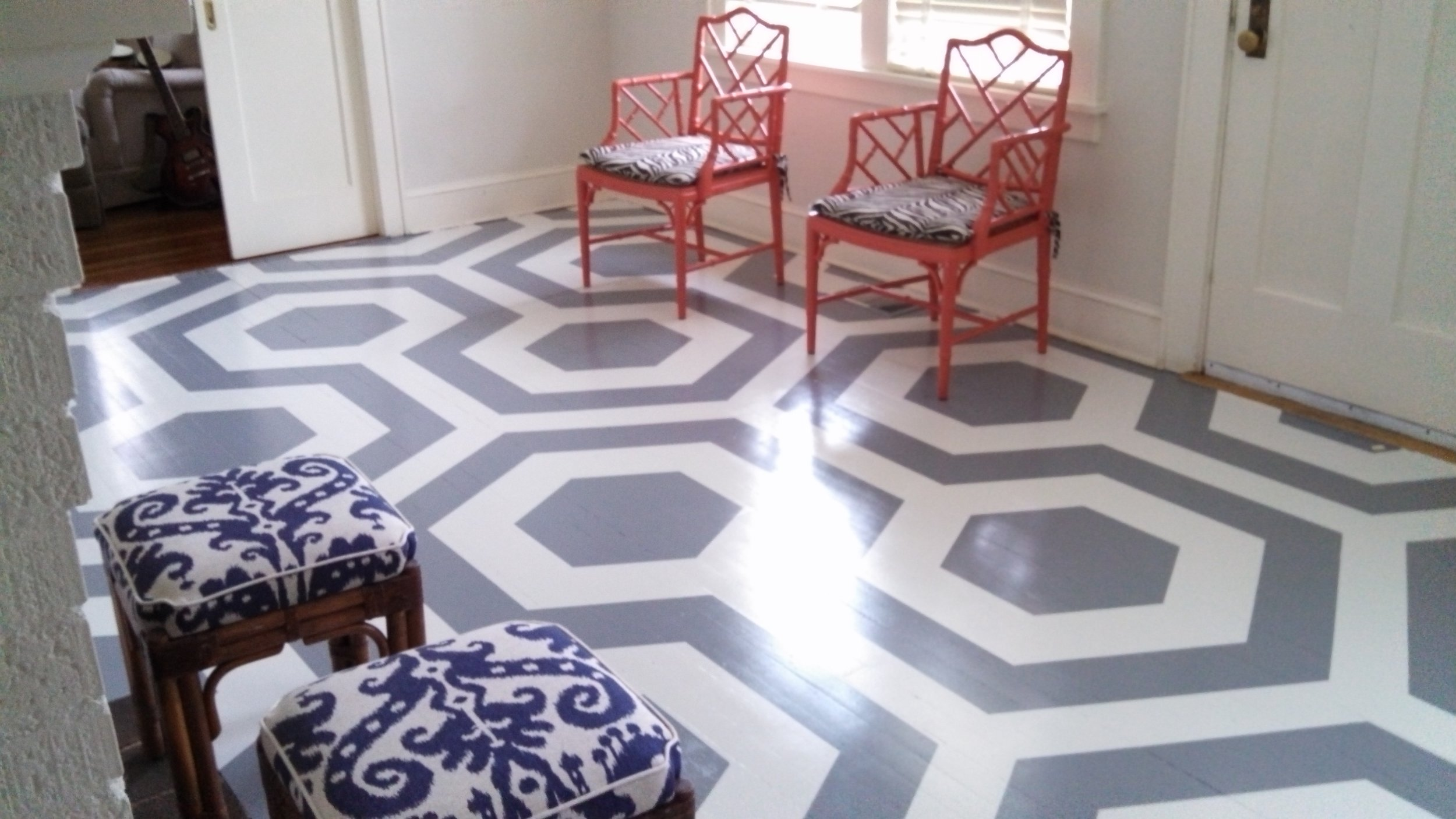 Decorative Floor Painting