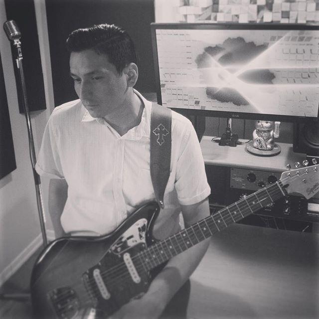 #70s #vibe #nechione #studio #guitar #tracks #loudiamondnechi #warmaudio #fender #mustang #protools #tracking 🎸