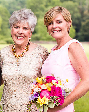 Carolyn and Mason, a mother-daughter flower power team are the lead forces at Millefleurs.
