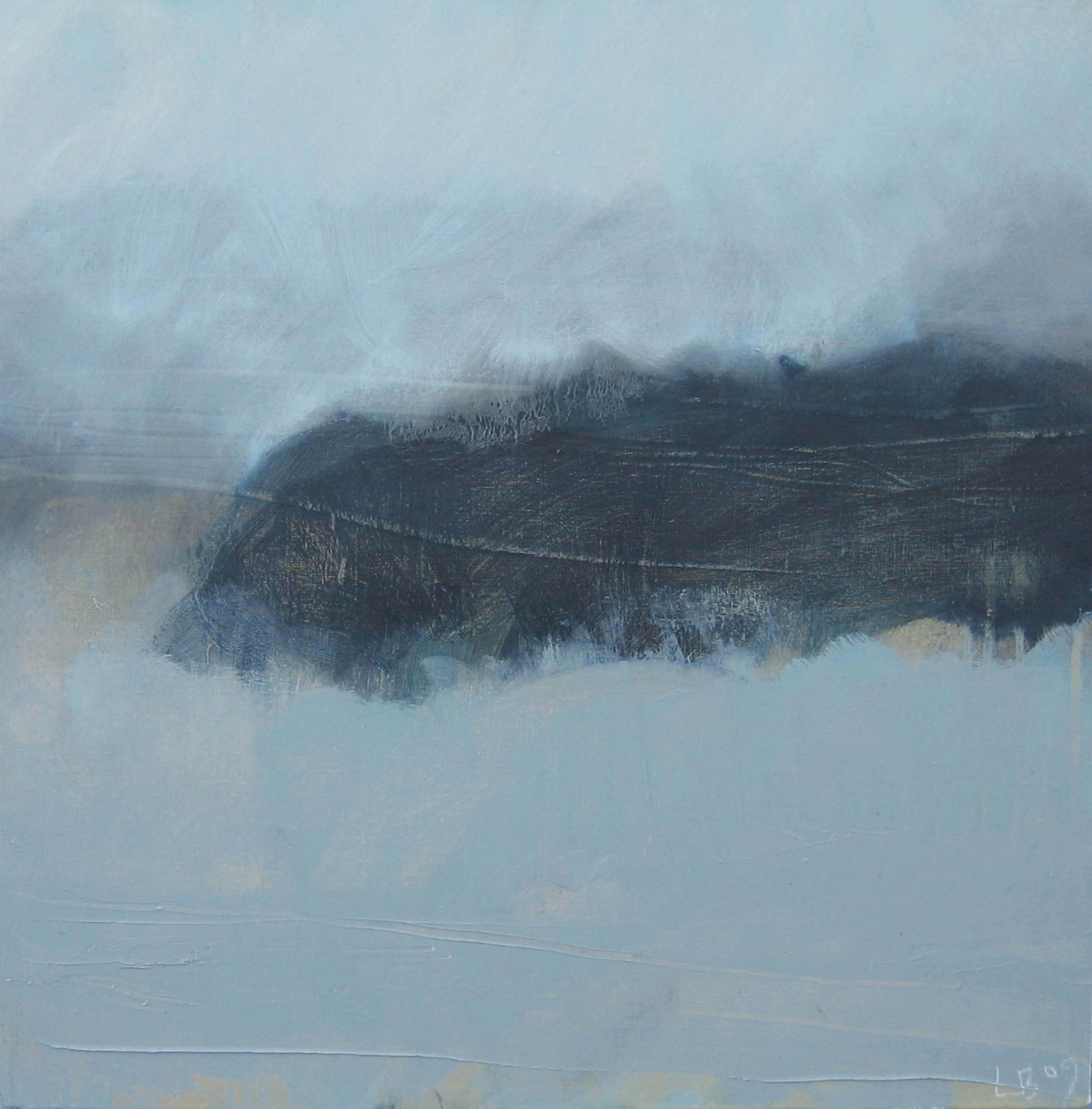 Leah Beggs 2009 - Frozen Headland - Oil on Canvas - 50 x 50cm_sml.jpg