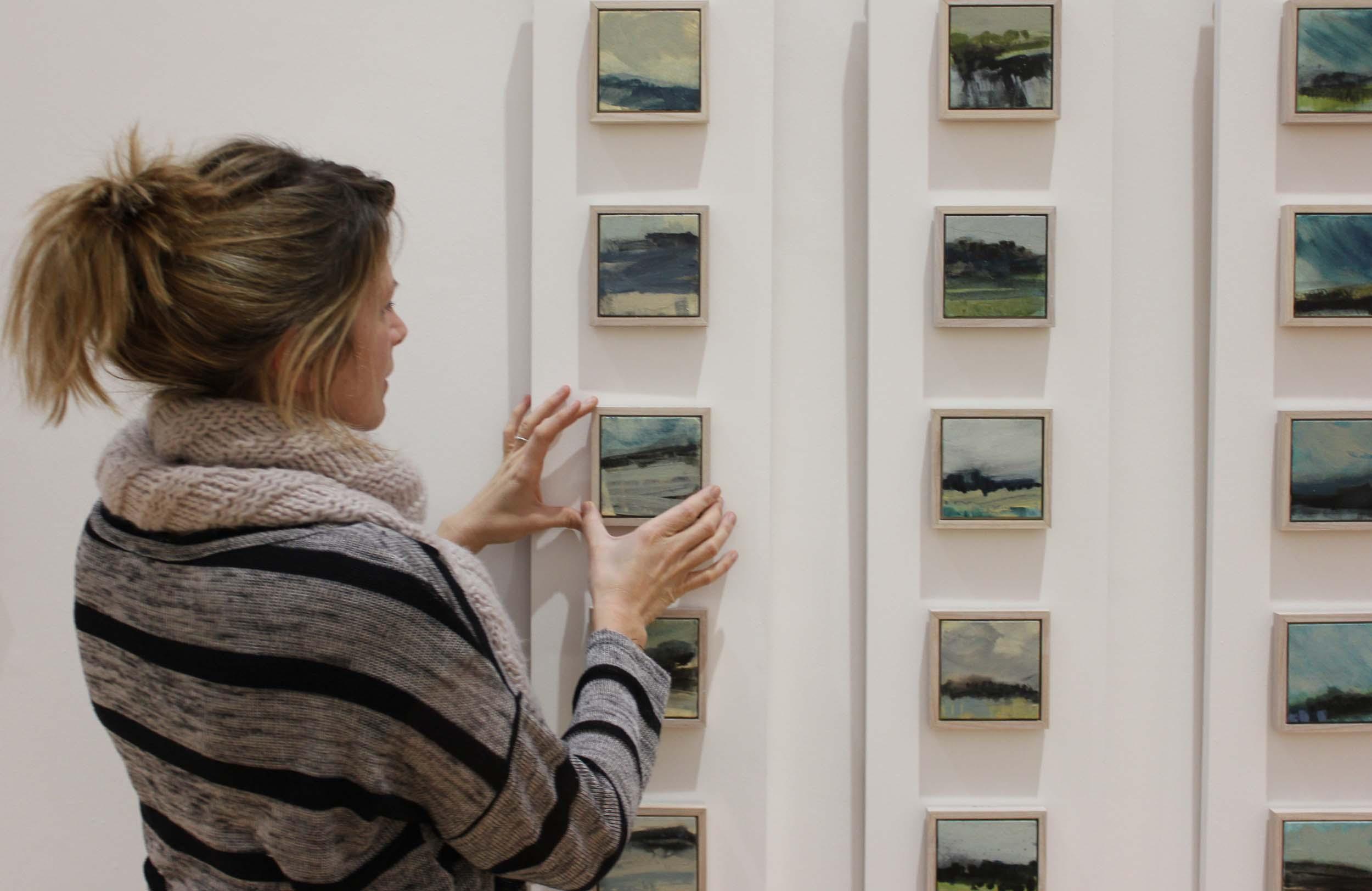 Installation view from 2013 Exhibition - Snapshots - A Connemara Journey