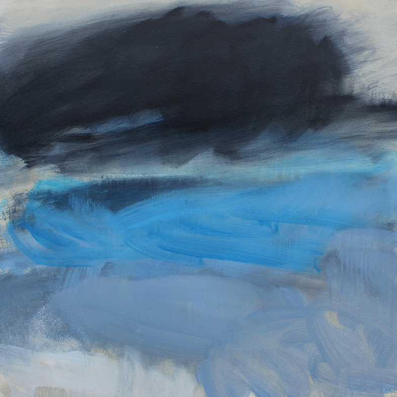 'THE FURY OF THE WIND DISTRACTED BY THE TURQUOISE SEA'