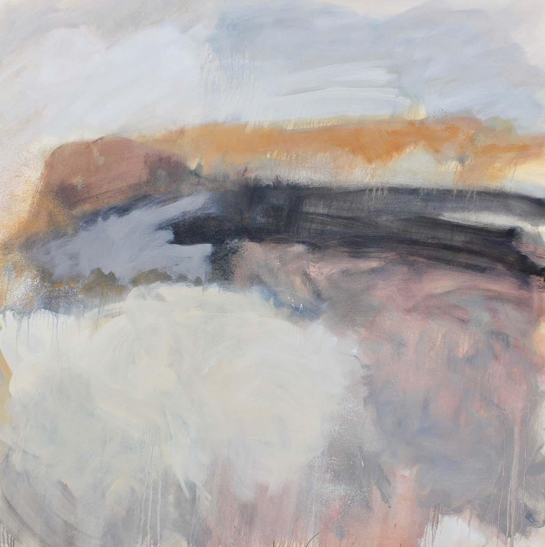 SEPTEMBER SUN - oil on canvas - 120 x 120cm