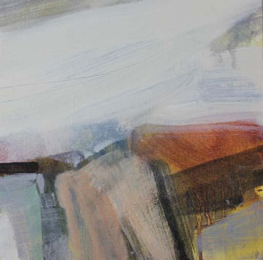 OCTOBER WALKS - oil on canvas - 20 x 20cm