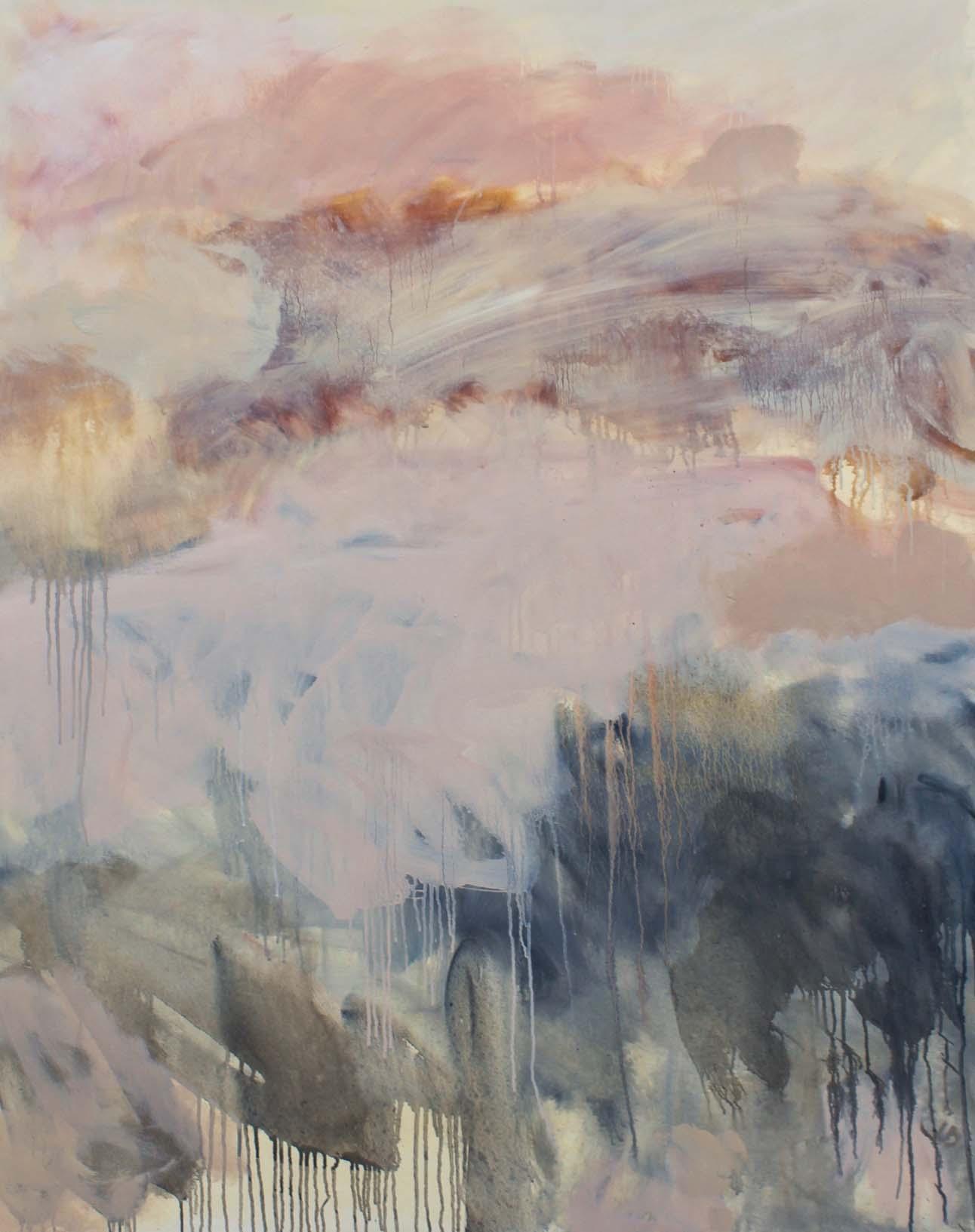 SLEEPING IN - oil on canvas - 120 x 150cm
