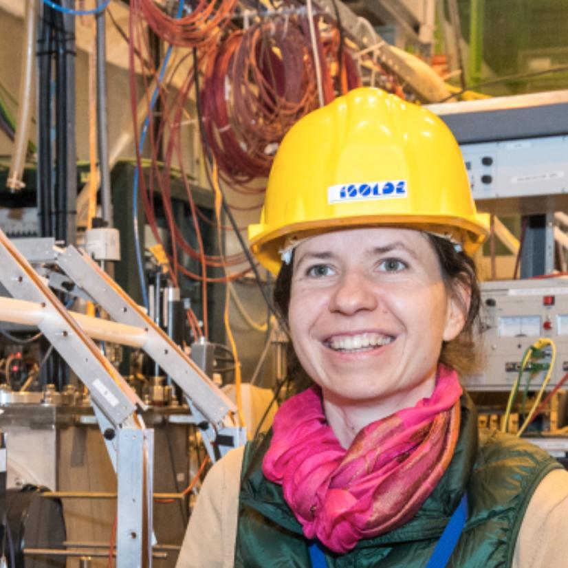 Dr. Magalena Kowalska - CERNTalk title: TBCImage: Sophia Bennett/ CERN