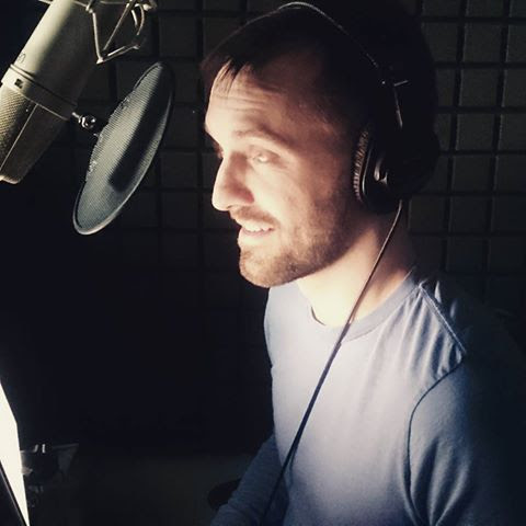 Recording the Sean O'Brien series by Tom Lowe at Audible Studios, summer 2015