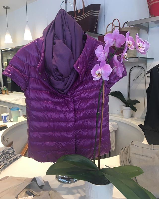 Herno is in the store please come to see the new collection #Made in Italy