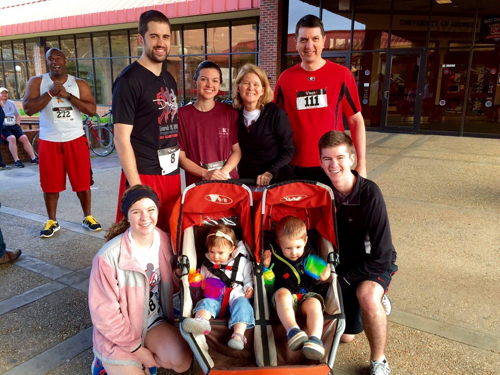 annual family 5k UGA Dawg trot.jpg