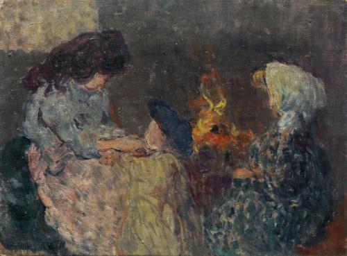 la flambée les enfants bompart. 1899