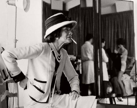 gabrielle coco chanel. paris. 1962