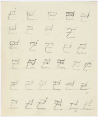 lounge chairs with arms. mies van der rohe. 1931-1932