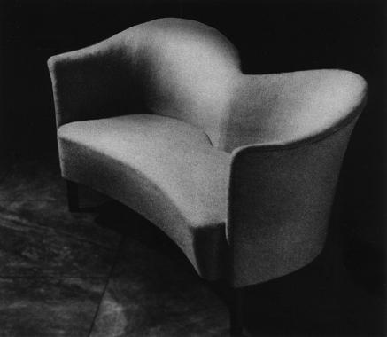 two seat sofa. 1949