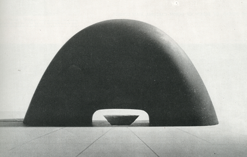 sculpture design for hiroshima peace memorial park. 1952