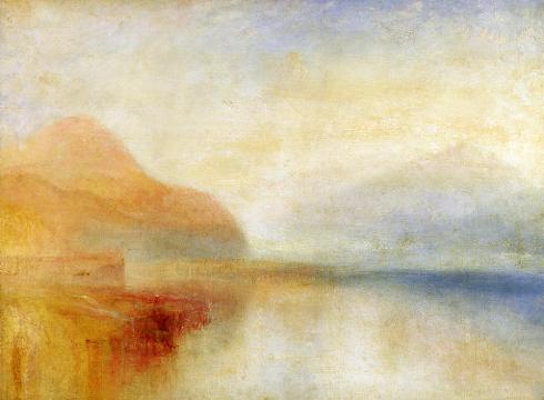 inverary pier loch fyne morning. 1845
