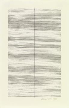 untitled. felt tip pen on paper. 1974