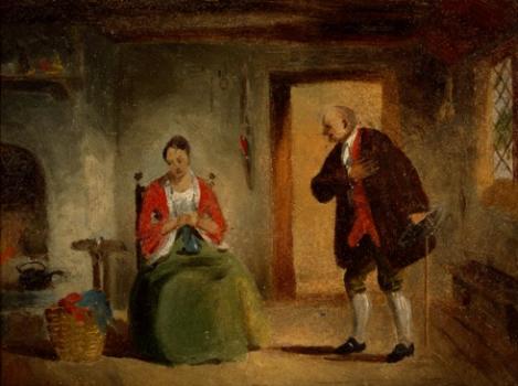 interior study. c1835-1863