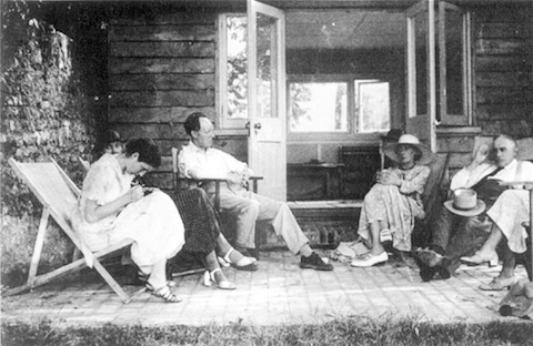 virginia woolf and friends. 1930s