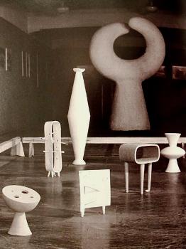 solo exhibition, tokyo. 1950