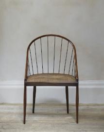 Brazilian Spindle Back Chairs By Joaquim Tenreiro