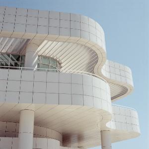 Getty Center, LA, California, opened 1997.