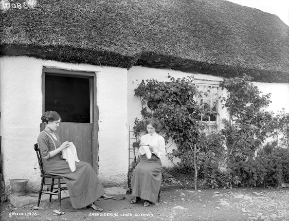 Thatched house, County Down.