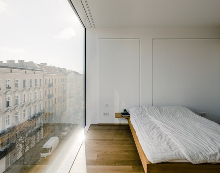 Christburger Strasse Apartment, by Zanderroth Architects, completed 2013