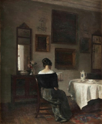 At the breakfast table, 1863-1935