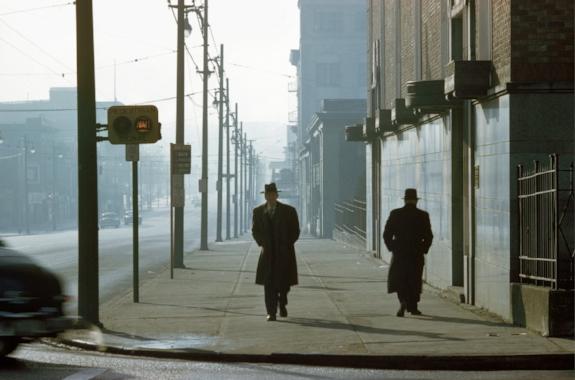 Two Men in Fog. 1958