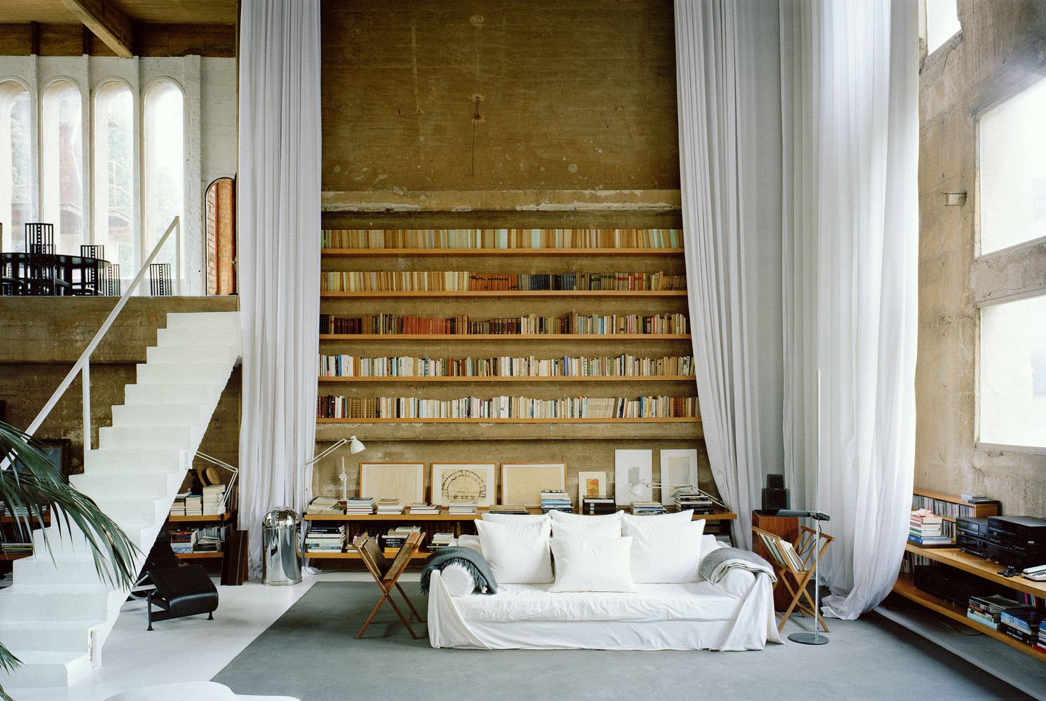 'La Fabrica' residence and office, by Ricardo Bofill Taller de Arquitectura, completed 1975