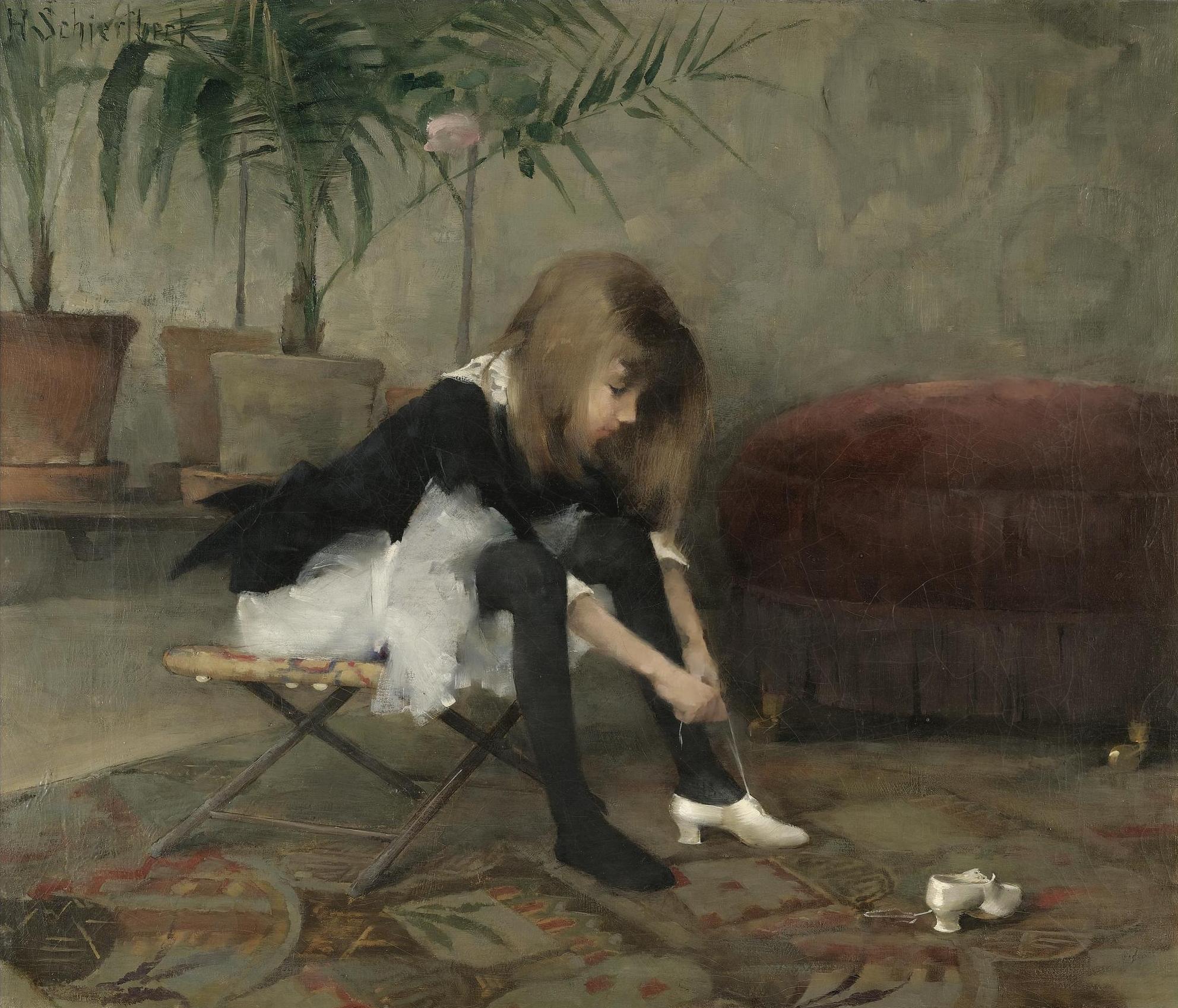Dancing Shoes, 1882