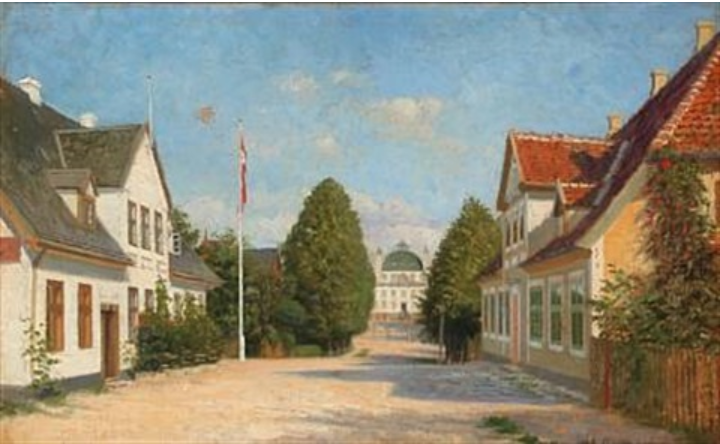 Summer day at Fredensborg Palace, Denmark 1859–1925