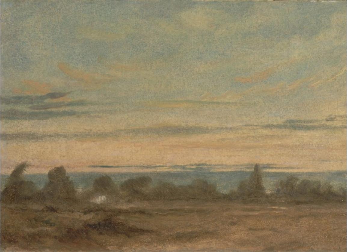 Summer Evening Landscape, 1825