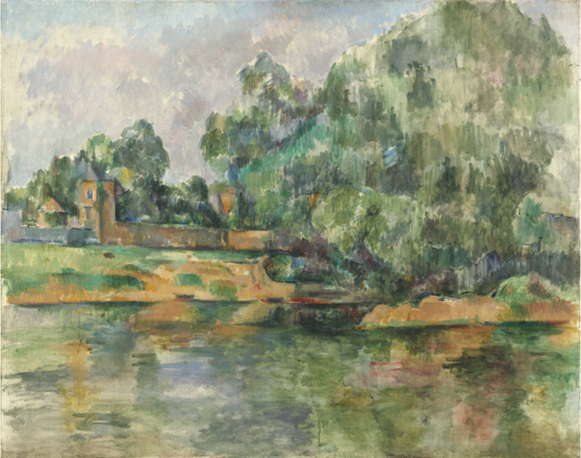 Riverbank, ca. 1895