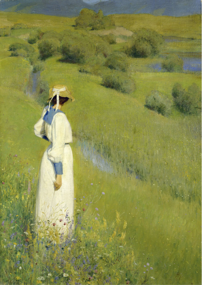 In the Countryside, 1895