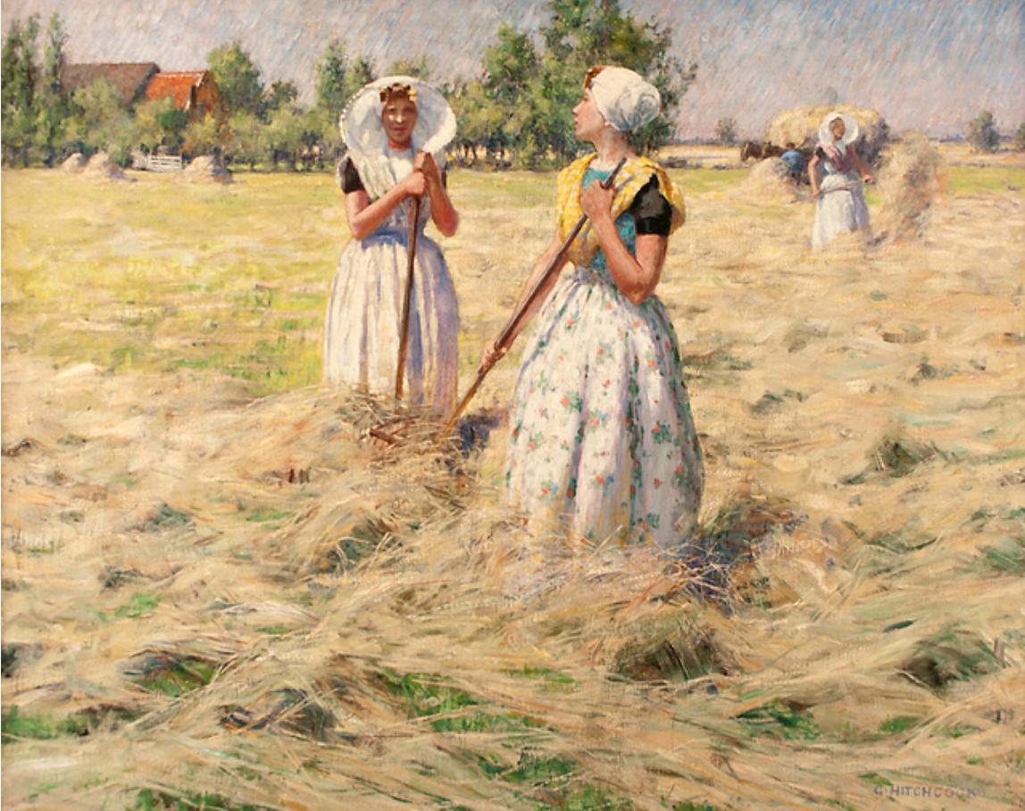 Haymakers, Zeeland, ca. 1890